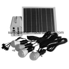 20W Solar Power Lighting Home System with 4PCS Bulbs for Indoor or Camping