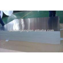 Placa de vaso Folha de alumínio