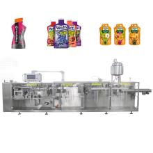 Máquina de embalaje de bolsas de forma irregular de bebidas energéticas
