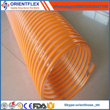 Tuyau d'eau d'aspiration en hélice de PVC de haute qualité