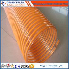Mangueira de água de sucção de hélice de PVC de alta qualidade
