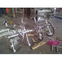 Double Ribbon Powder Mixer