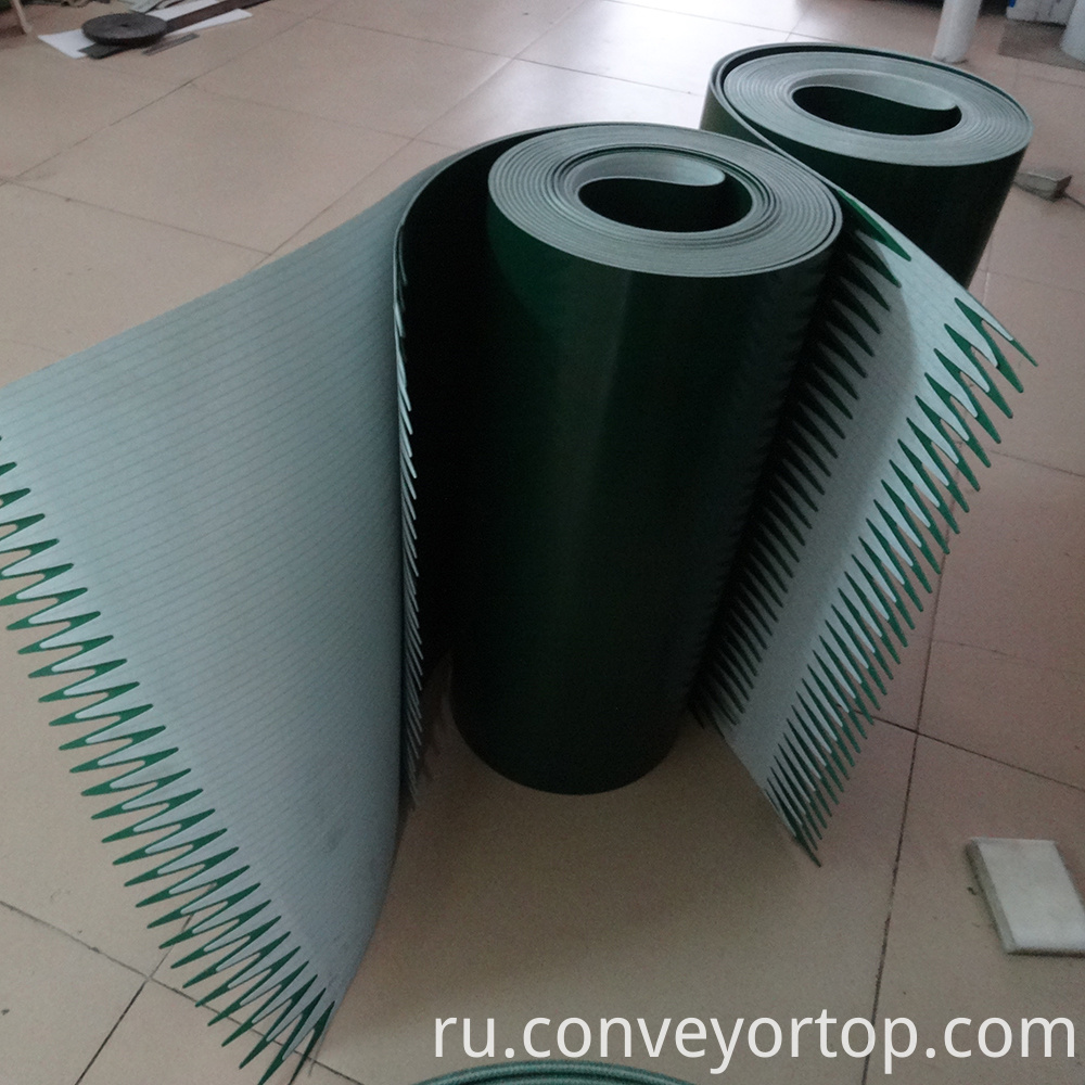 Green PVC Conveyor Belt