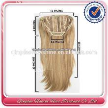 Rational Price Gorgeous Blonde Ellen Straight Half Wig