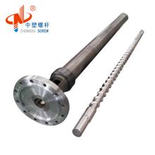 Barril de tornillo de extrusora de instalación de tuberías de CPVC