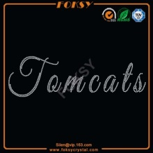 Tom Cats hotfix rhinestone transfers