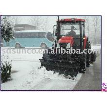 Hoja delantera del tractor para la nieve