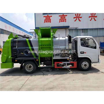 Dongfeng collection garbage truck waste food rubbish