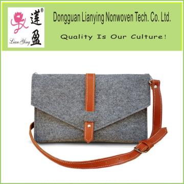 Soft Handmade Felt Mobile Pouch