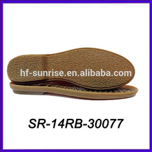 flat heel rubber shoes sole natural rubber sole