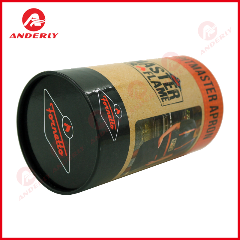 High Strength Packaging For Clothes Cylindrical Paper Box
