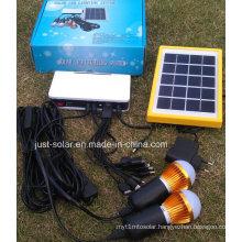1W+3W Solar Home Powre Supply LED Lighting System