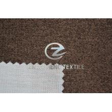 Polka DOT Poly Velvet Bonded Knitting Fabric for Sofa Use and Home Use