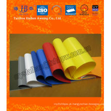 Tela de PVC laminado, tecido laminado de PVC de duplo lado