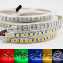 16.5FT SMD 5050 RGB white Waterproof 300 LED Flexible 3M Tape Strip Light DC12V