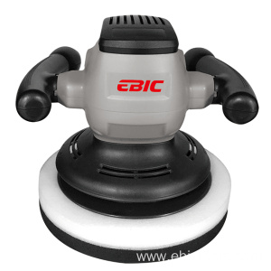 Electric dual action car polisher