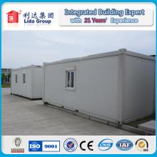 Estructura de acero modular de contenedores de la casa