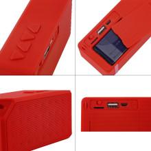 Mini alto-falante portátil Bluetooth com bateria recarregável