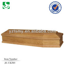 economic useful coffin with nice carving