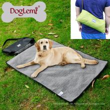 Doglemi Soft Haustier Hundebett Outdoor Tragbare Decke Hund Reisedecke