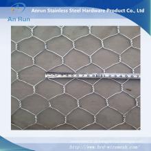 Rede de fio hexagonal para a cerca de construção