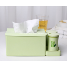 Bambus Tissue Box Serviettenhalter mit Zahnstocherhalter