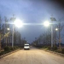 Turbinas de viento verticales Energía solar híbrida Alumbrado público