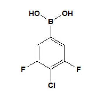 Ácido 3, 5-difluoro-4-clorofenilborónico Nº CAS 864759-63-7