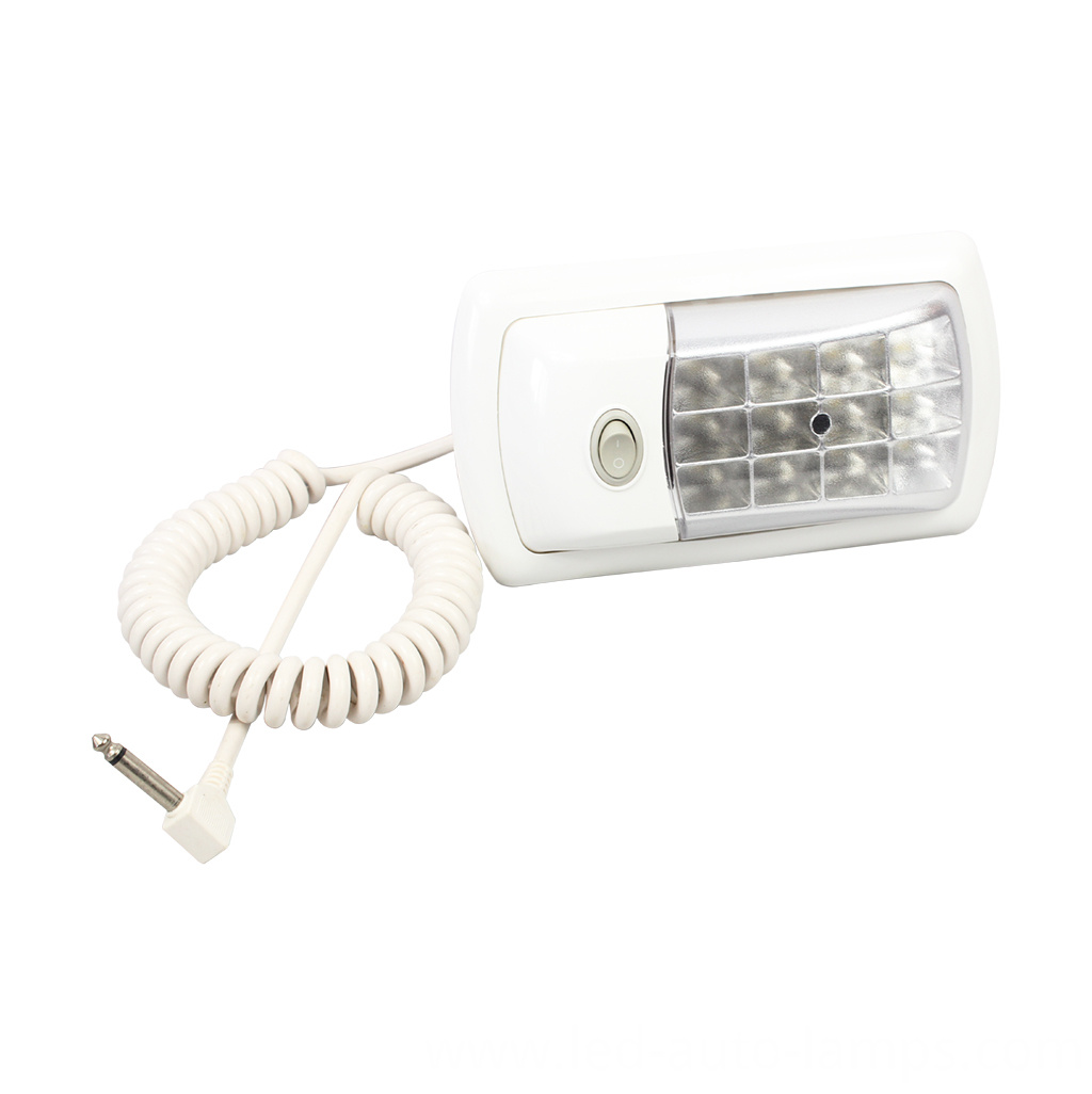 12/24V LED Caravan Interior Dome Lights with switch