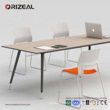 ORIZEAL conference table, office table with spray steel table legs