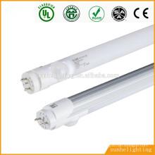 TUV SAA CE UL aprovação Balastro eletrônico compatível SMD2835 0.6m1.2m 1.5m 10w 18w 24w 1200mm conduziu a luz do tubo