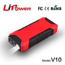 12000mah 12V Polymer Li-Ionen-Akku tragbare batteriebetriebene Steckdose mit AC-Wandadapter