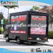 farbenreiche im Freien Imprägnierwerbungsanzeigeanzeige P8 LED-Digital Signage für annoncieren auf Lastwagen