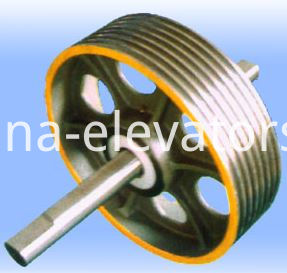 Elevator Diverting Pulley