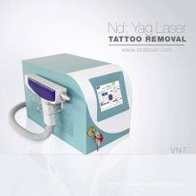 2018 équipement de physiothérapie q interrupteur laser nd yag