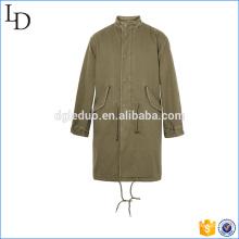 Gola acolchoada jaqueta acolchoada com bolsos frontais quentes jaquetas outerwear