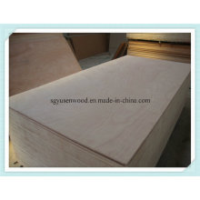 Poplar Core Commercial Plywood From China