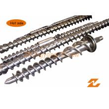 Tornillo de caucho para maquinaria Extruber Barril de tornillo de extrusión de caucho