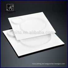 Küche Schatz quadratische Platte neue heiße Design Sonne & Mond See quadratische Platte