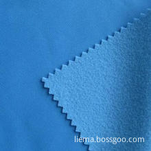 100% Polyester Brushed Tricot Fabric, Golden Velvet, Widely Used for Sportswear and Other Garments