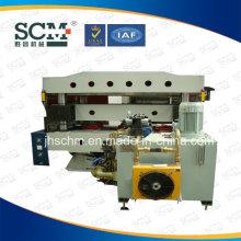 Automatische hydraulische Stanz- und Heißfolien-Stanzmaschine
