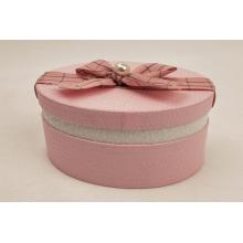 Boîte à clous avec oreille décorée rose et perle