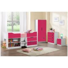Красочный умный комплект мебели для спальни для детей (HF-BL026)