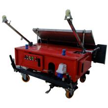 Máquina automática de reboco e reboco para parede