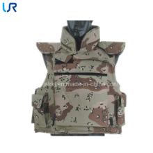 Camuflaje chaqueta ligera a prueba de balas Chaleco militar de combate