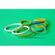 White/Red/Green/Blue/Clear/Yellow Silicone Rubber O-Ring