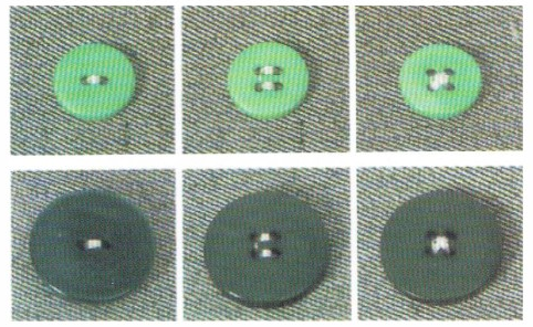Samples Of Computerized Button Attaching Sewing Machine
