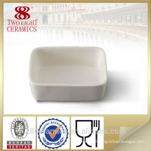 Wholesale white ceramic soup bowls, porcelain sugar pot