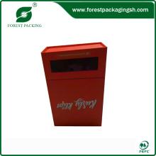 2015 Новый дизайн Красный картонная коробка