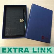 Boîte faite sur commande de papeterie de papier dur imprimée par logo fait sur commande de boîte chinoise
